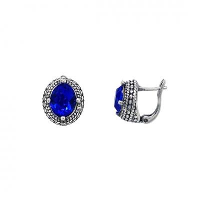 Kolczyki do kpl. 2074 Pc  Sapphire