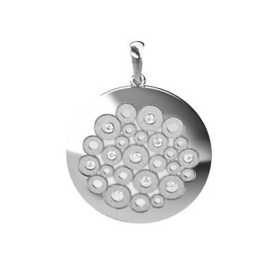 Zawieszka srebrna do kpl. 5002 Gl
