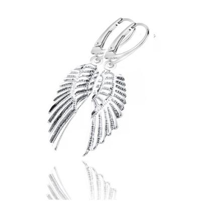 Kolczyki skrzydło anioła.