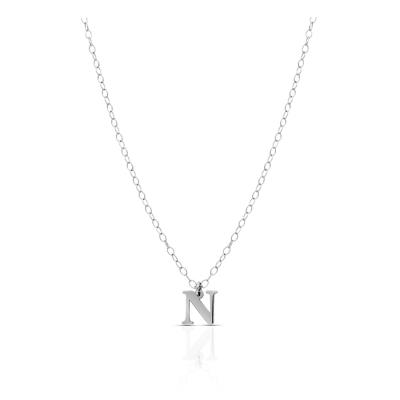 Naszyjnik mała literka N