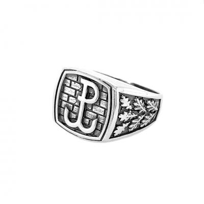 Sygnet srebrny 0386 Pc