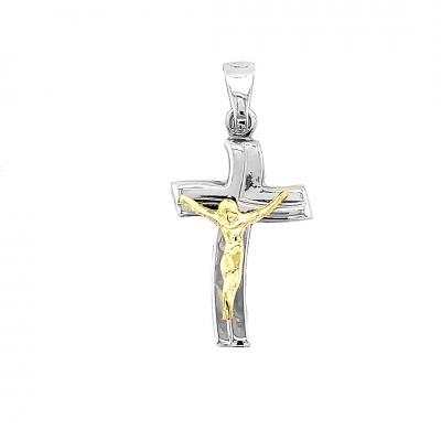 Krzyżyk srebrny 013 Sr