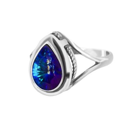 Pierścionek srebrny do kpl. 2107 Pc (Millennium Blue)